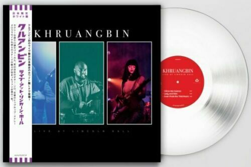 Khruangbin Live At Lincoln Hall Ltd Ed WHITE Vinyl LP W OBI Japanese Import - $63.00