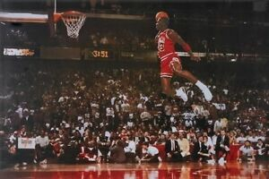 Michael Jordan - Chicago Bulls - Foul Line Basketball Poster - NBA #217