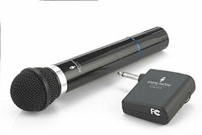 Microphone Wireless Singing Machine SMM-107 Uni-Directional Dynamic - Black