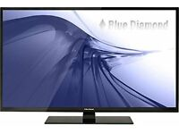 "Blue Diamond 46"" LED TV, 1080p FULL HD USB Multimedia & PVR BD46PDLF Boxed as NEW £275"