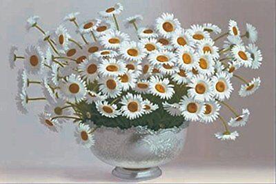 Daisies 3D Lenticular Poster - Floral Arrangement - 12x16 -