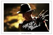 Freddy Krueger Signed