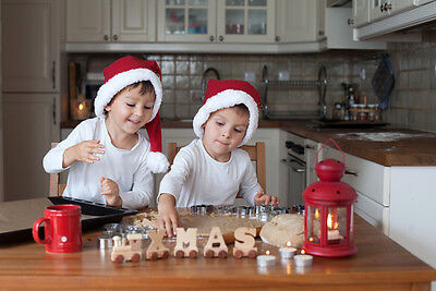 Kids love decorating the cookies