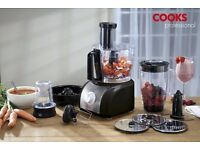 cooks professional food processor, brand new - never used