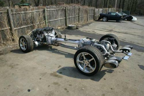 corvette rolling chassis parts accessories ebay. Black Bedroom Furniture Sets. Home Design Ideas