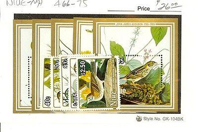 Niue Scott 466-475 NH    [ID#429940]