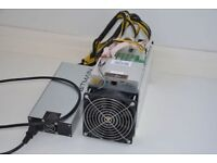 AntMiner S9 with Power Supply and 90 day warranty £4,000, ready to ship same day