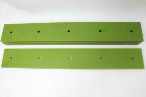 """Long Drilled HDPE Green 3/4"""" x 4"""" 28"""