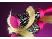 Mobile hairdresser, nanokeratin, highlights, colours, hairdo, covering Weston, Bristol and arround