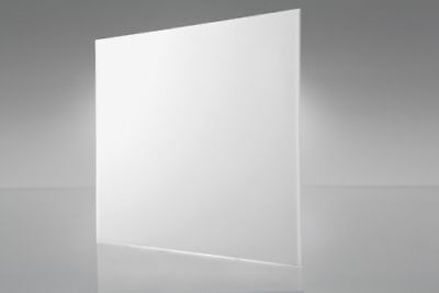 Acrylic White Transparent Plexiglass 18 X 12 X 24 Plastic Sheet 2447