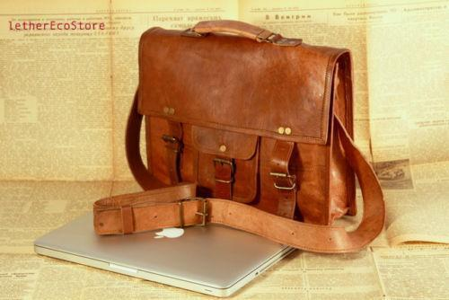 e66e6f14ac7e Vintage Leather Briefcase