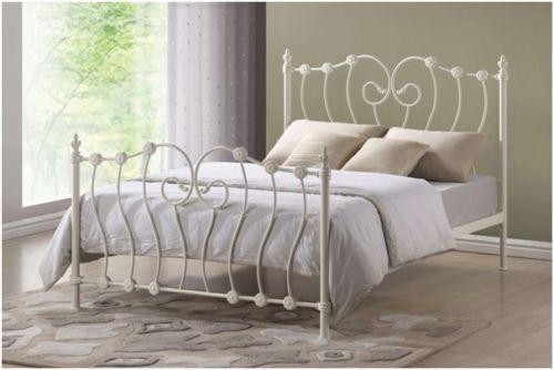 Metal Bedstead Bed Frames Amp Divan Bases Ebay