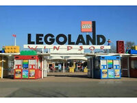 Legoland Windsor tickets 3rd 4th 11th 18th 25th september 1st 2nd 8th 9th October