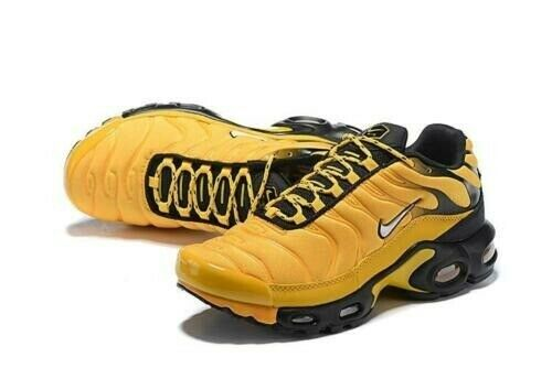 053d6975c2 Nike TN Air Max Plus Frequency Pack Yellow Black | AV7940-700 - Trainers