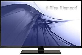 """Blue Diamond 46"""" LED TV, 1080p FULL HD £240 Bargain - Discounted as casing is damaged a little"""