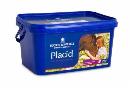 Dodson & Horrell Placid Horse Equestrian Supplement 1 Kg Tub
