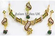 Green Jewellery Set
