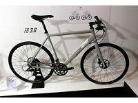 Silver Eastway Hybrid Bicycle FB 3.0