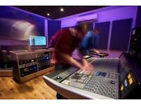 Audio Production, Recording, Editing, Mixing, Mastering Services