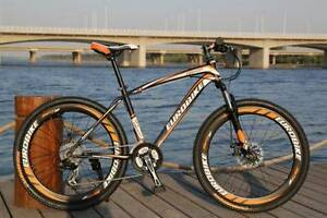 "Black and Orange 26"" Mountain Bike with 21 Gears Coffs Harbour Coffs Harbour City Preview"