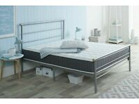 👍🏻😎INTRODUCTION OFFER ON SINGLE DOUBLE KING ALL TYPE OF METAL BED WITH ANY CHOICE OF MATTRESS