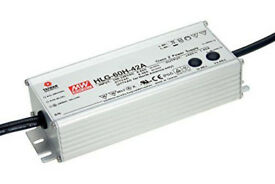 Professional Power Supply 40W 24V Waterproof HLG-40-24