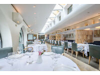 Waiter or Waitress - Orrery Restaurant Immediate Start Marylebone High Street, London W1U5RB