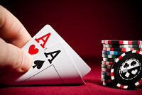 Live Texas Hold'em Poker game in Fredericton!