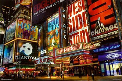 New York Times Square Travel Poster 36x12 Poster Service