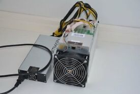 AntMiner S9 with Power Supply and 90 day warranty £4,500, ready to ship same day