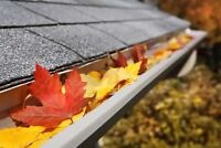 Fall Clean Ups - Eaves Cleaning, Leaf Removal and More