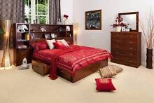 LUXURIOUS LIBRARY 5PCE QUEEN BEDROOM SUITE Villawood Bankstown Area Preview