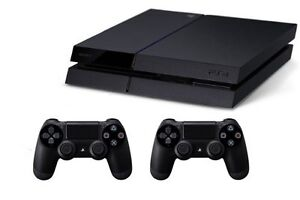 Ps4, 6 games, 2 controller and a headset