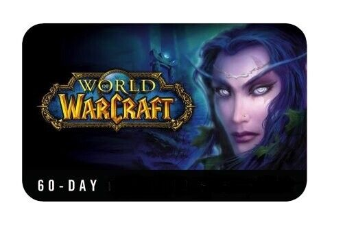 World of Warcraft WOW Game Time 60 days US/NA + Classic