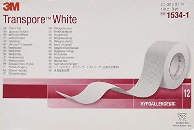 3M Transpore White Surgical Tape