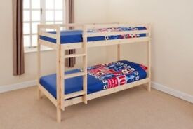 Natural Pine Bunk Bed-brand new.