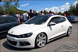 2009 vw scirocco Gt tdi 170bhp £6495 with Bentley wheels £7500