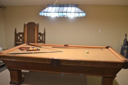 Used Pool Tables Ebay