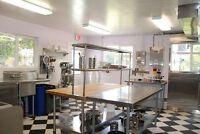 Recherche colocataires pour partager cuisine commerciale