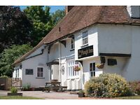 Full time/part time pub supervisor - 20 minutes from Ashford, Maidstone & Faversham