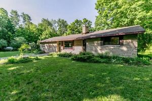 25 Pristine acres with a 3 Bedroom Bungalow