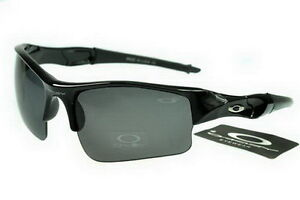Oakley Flak Jacket Semi-Rimless Black AIP