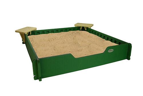diy so bauen sie einen sandkasten selber ebay. Black Bedroom Furniture Sets. Home Design Ideas