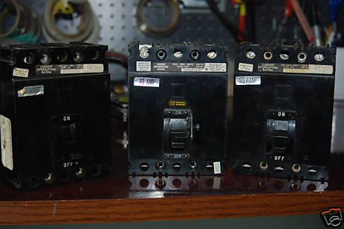 Square D FAL32040 ,  40A, Series 2, 240vac,