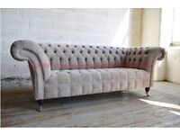 Chesterfield 3 Seater Sofas. A Chesterfield 3 Seater Sofa Custom Made To Your Specifications.
