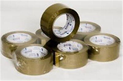 Tan / Brown 2.0 Mil Packing Tape 2