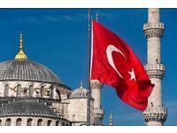 Turkish via Skype