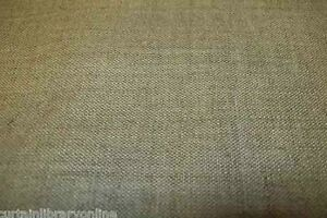 Irish Linen Plain Natural Curtain Material Fabric Roll £9.99 Per Metre