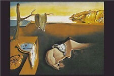 DALI - PERSISTENCE OF MEMORY ART POSTER - 24x36 SHRINK WRAPPED - PRINT 2334