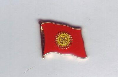 Kirgistan Flaggenpin,Flagge,Pin,Flag,Badge,Kirgisistan